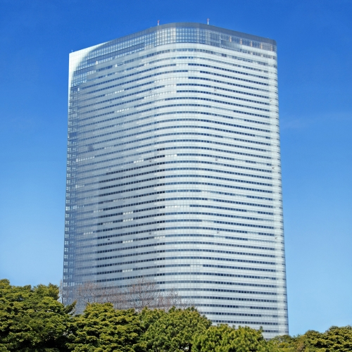 Photo of Dentsu Building